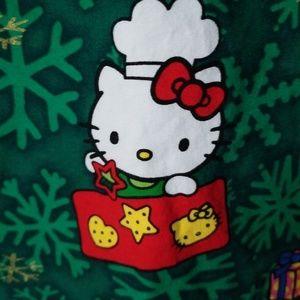 Sanrio Tops - Hello Kitty Christmas Scrub Top Sanrio sz L